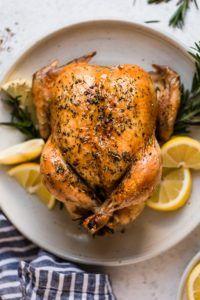 Roast Chicken with Rosemary