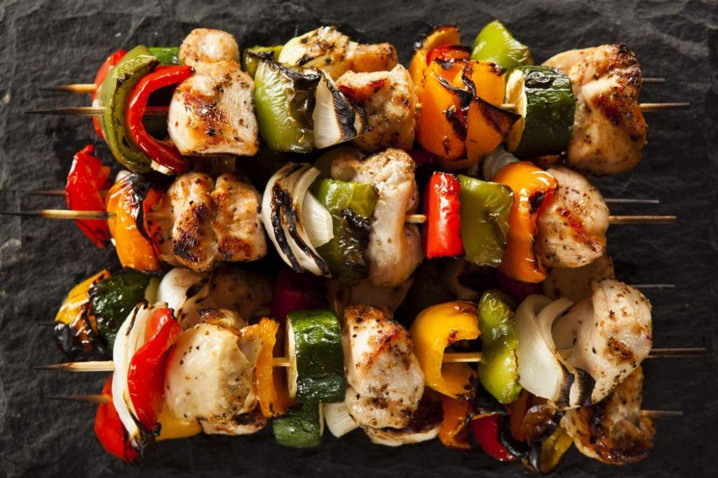 Chicken Veggie Kebab