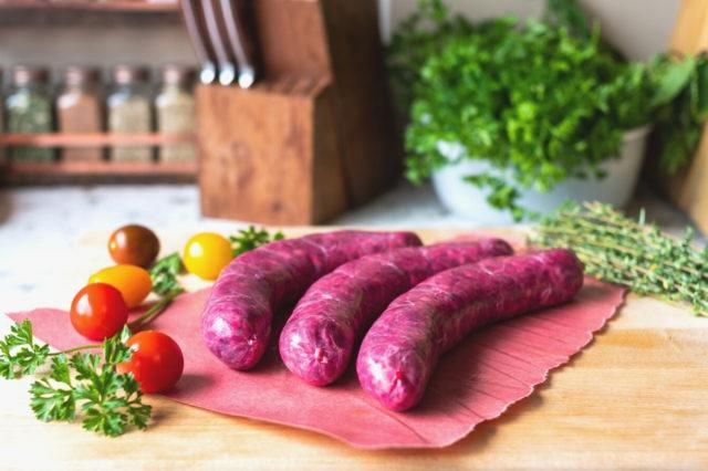 Beet Borscht Sausage