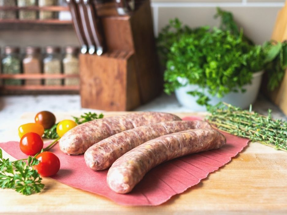 Craft Beer and Cheddar Sausage