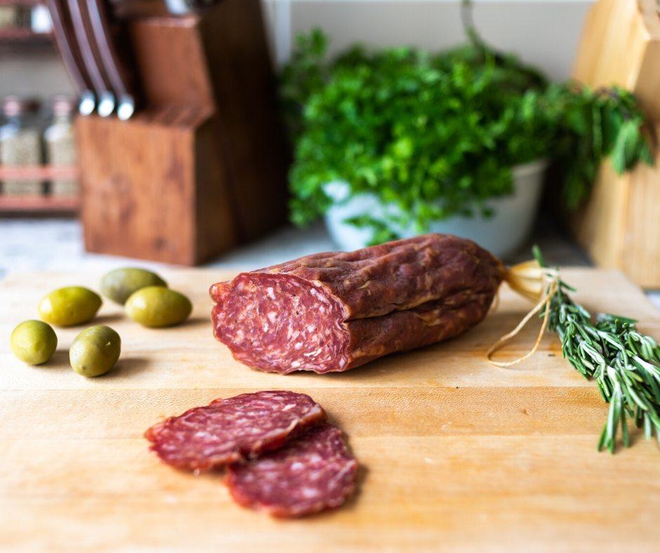 Hunter Garlic Pork Sausage