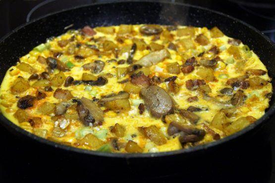 Halenda's Kobassa Omelette