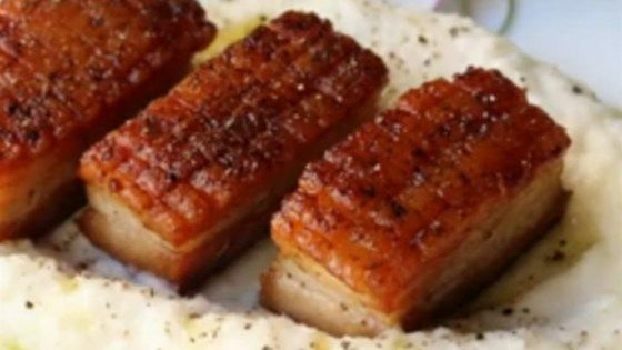 pork belly rind roast